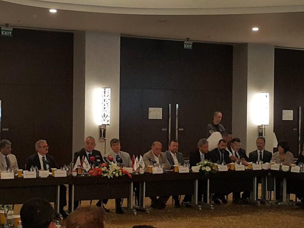 Turizm Bakanımız Mehmet Ersoy ile turizm değerlendirme toplantısı