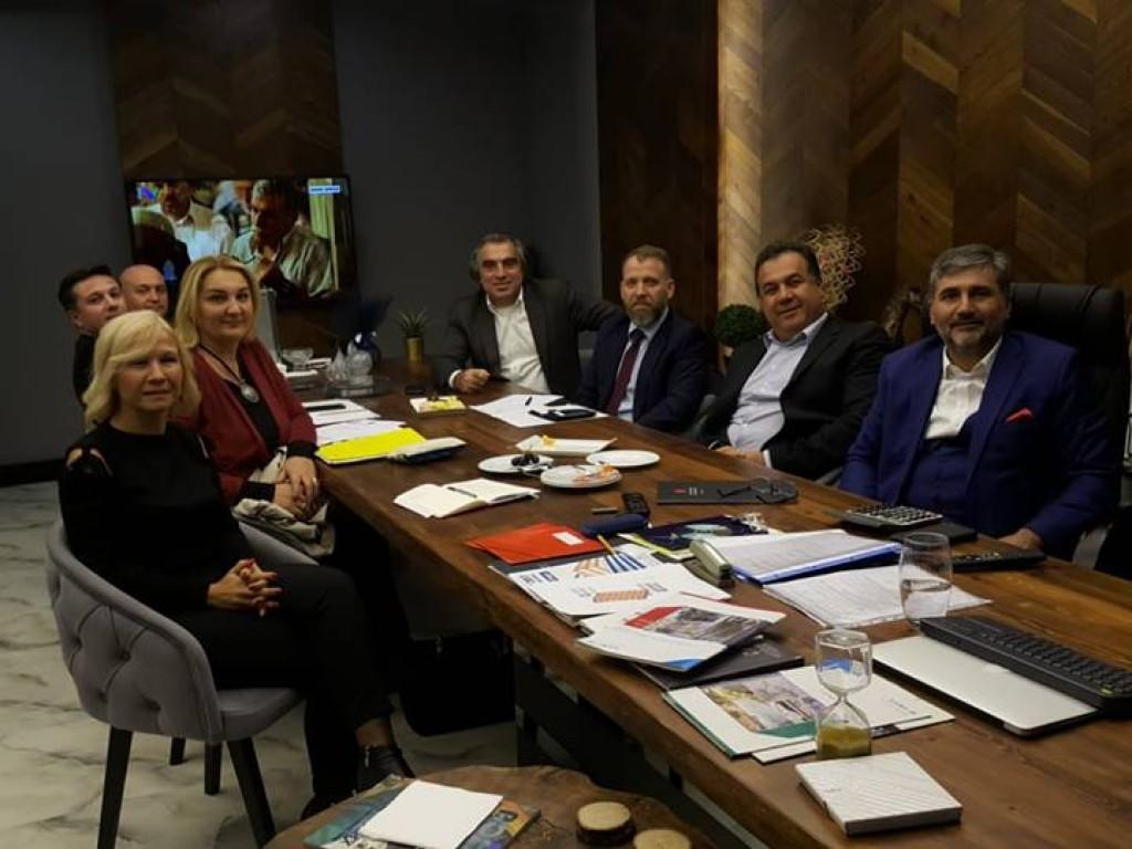 Spor Bakanlığı Dış İlişkiler Daire Başkanı ile toplantı gerçekleştirdik