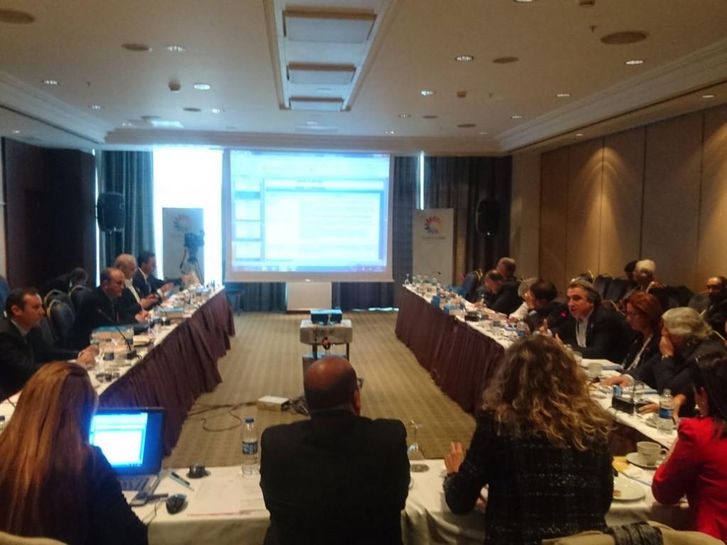 Komisyon Toplantısında Spor Turizmi vizyonumuzu paylaştık