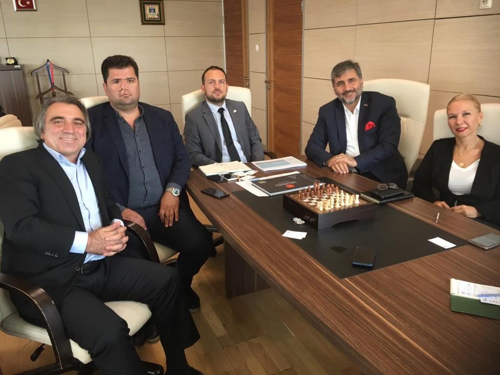 Spor Bakanlığı Genel Md Sayın Ozan ÇAKIR ile toplantı yapıldı
