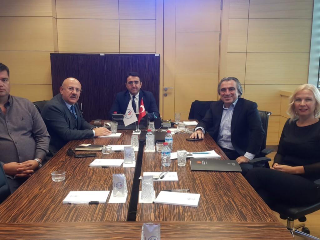 Spor Bakanlığında toplantı