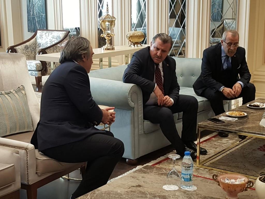 Spor Bakanımız Sayın Osman Aşkın BAK ile mini toplantı