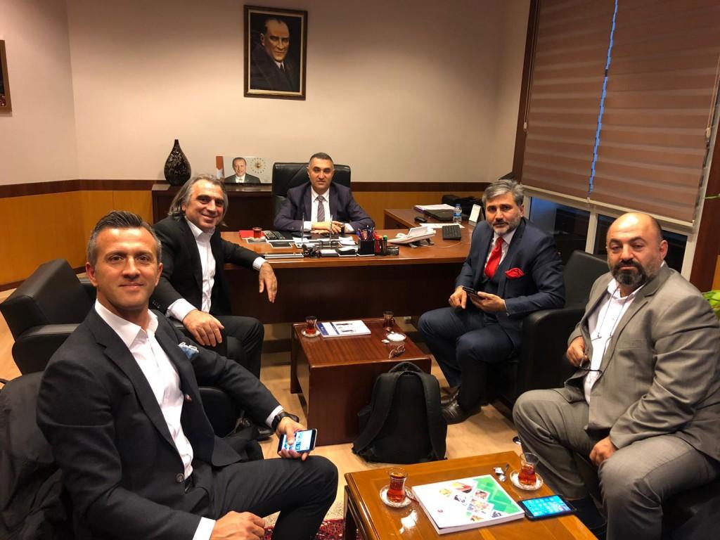TC Ticaret Bakanlığında toplantı