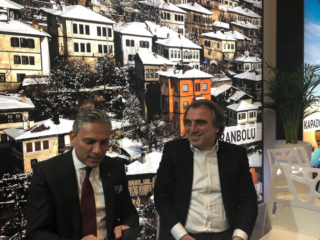 Türsab Başkanı ile spor turizmi