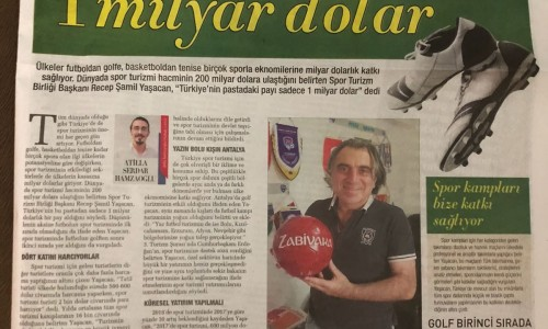 Türkiye'nin pastadaki payı 1 milyar dolar